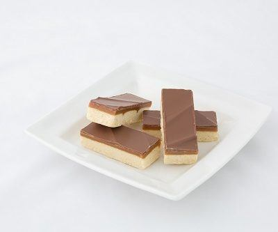 Caramel Shortbread Slices